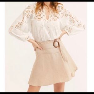 Free people higher ground skirt NWT size 6